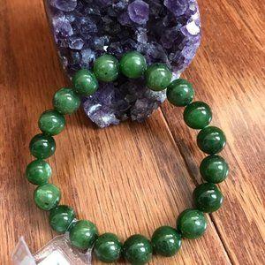 Natural Jade Bracelet ( Jade Certificate )